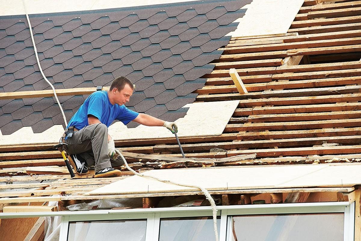 Замена старой крыши