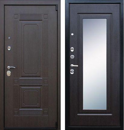 Крепкие входные стальные двери