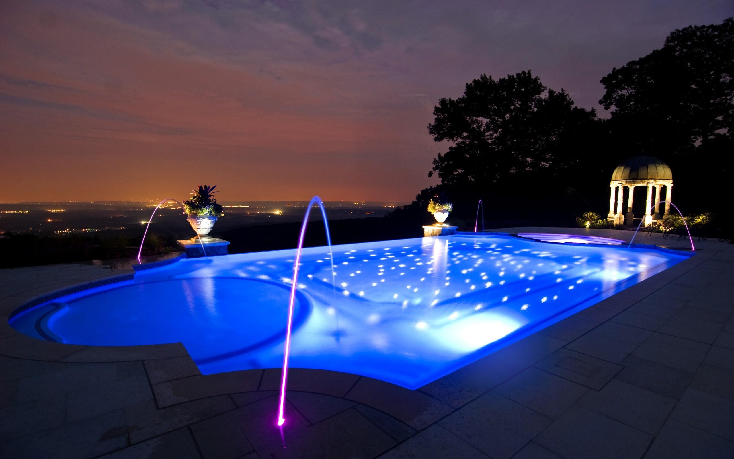 Безхлорная обработка воды в бассейне