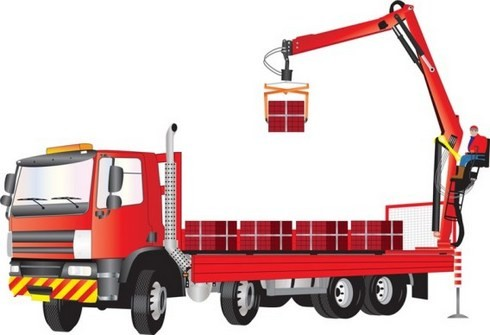 Транспортировка грузов манипулятором