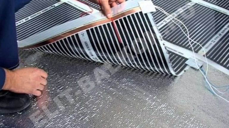 Выбор теплого пола при ремонте балкона